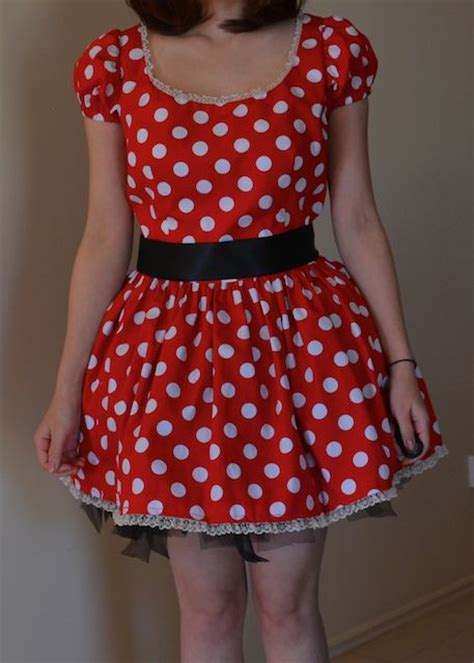 super cute minnie mouse costume sewing projects