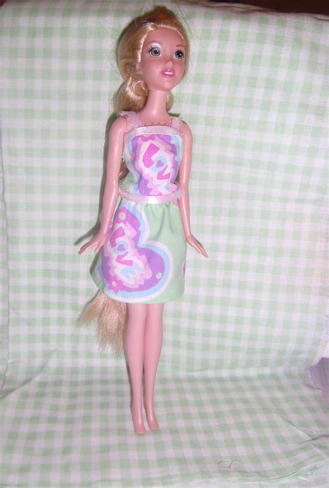 doll clothes pattern tutorial barbie doll dress tutorial with free pattern forget me