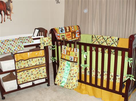forest animal crib bedding forest baby animals baby bedding set
