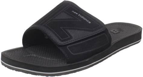 new balance sandals mens new balance mens uw301 mosie slide sandal in black for