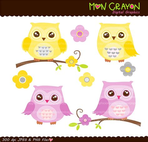 printable owl art free pink owl bunting cliparts co