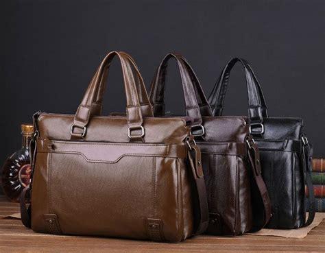 Tas Kerja Multifungsi Whm 01 tas kerja pria bahan kulit dengan berbagai slot cocok untuk menyimpan gadget dan keperluan