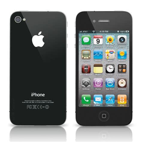 apple iphone   att gb black refurbished