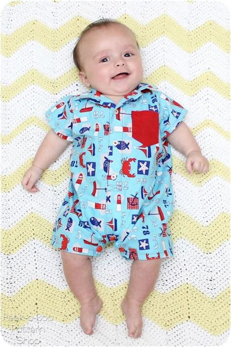 t shirt romper baby pattern button up baby romper by peekaboopattern craftsy