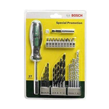 Mata Bor Bosch 33 Pcs X Line Set Mata Bor Obeng Kombi Limited jual bosch x line set mata bor besi kayu beton mata obeng tangan 27 pcs harga