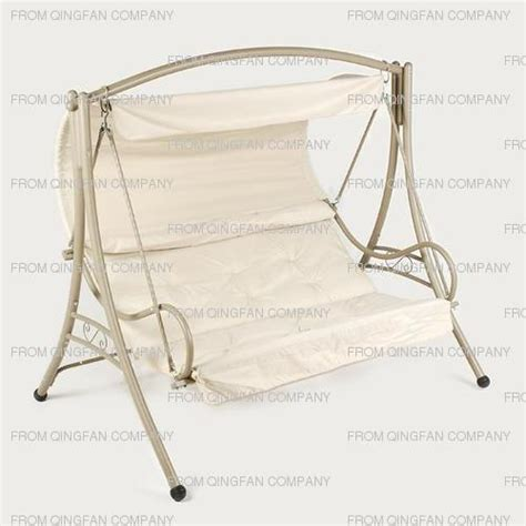 Swing Chair Frame by China Canopy Swing Chair With Metal Frame Qf 63080