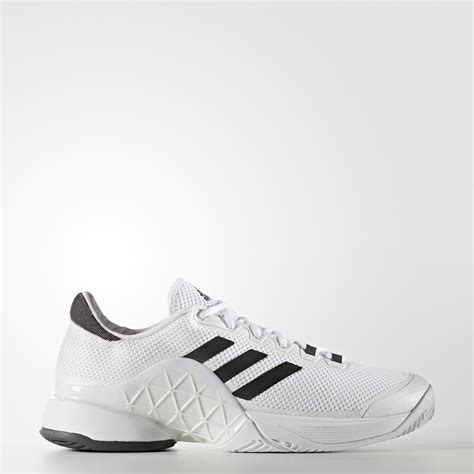 adidas mens barricade 2017 tennis shoes white grey tennisnuts