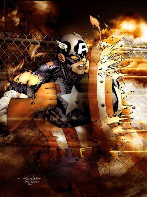 566 Iron 2610 Vs Captain America captain america drewstroyer by spiderguile captain
