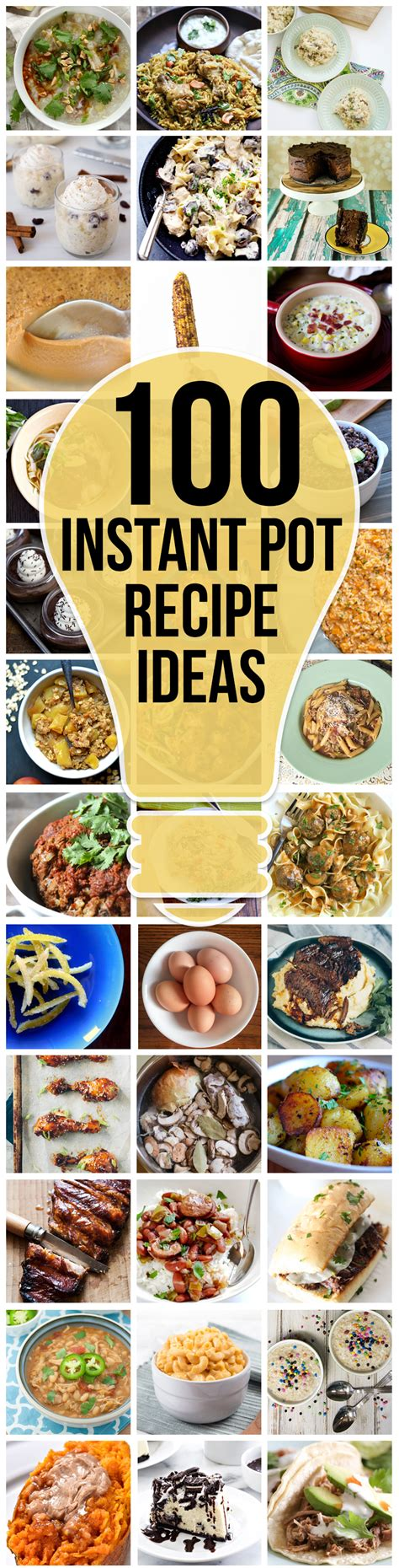 100 instant pot recipes a 100 amazing instant pot recipe ideas up