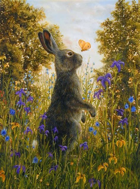 Rabbit And Butterfly Mug 1 97 best images about robert bissell on the descent on canvas and