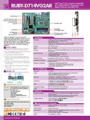 ruby d714vg2ar datasheet ruby d714vg2ar is based on