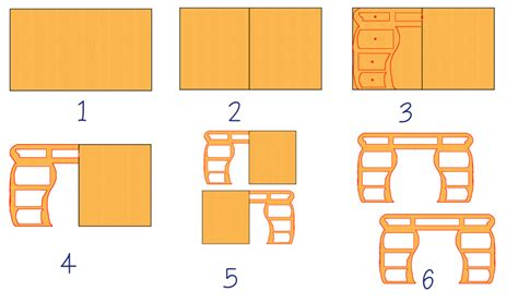 come fare mobili di cartone come fare un mobile di scatole di cartone con cassetti
