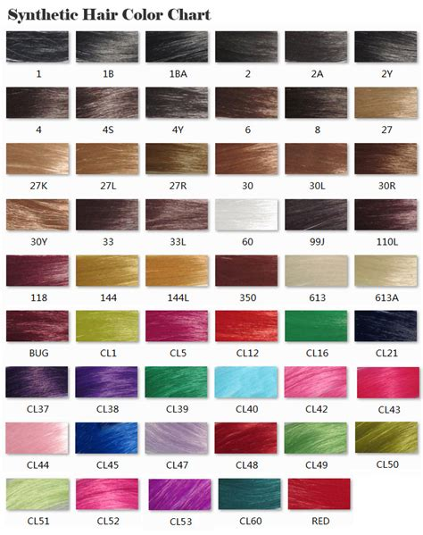 hair color chart for braids xpressions braiding hair color chart hairstylegalleriescom