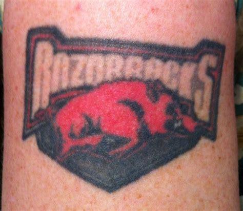 razorback tattoo designs arkansas razorbacks all things razorback