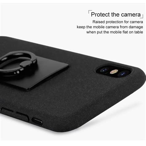 Hardcase Iphone With Iring imak contracted iring for iphone x black