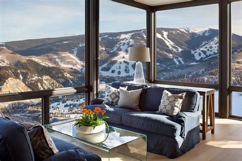 Cabin Style Houses Colorado Vacation Home By Morgante Wilson Architects