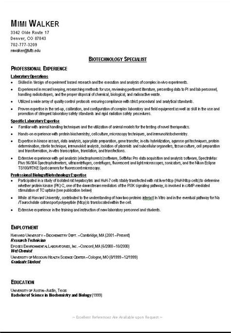 Exles Of Resumes For College Students by Best 20 Resume Exles Ideas On