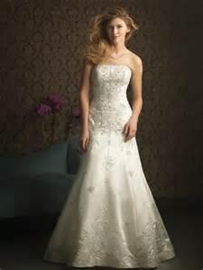 formal wedding dresses ivory strapless embroidery beaded formal unique wedding dresses prlog