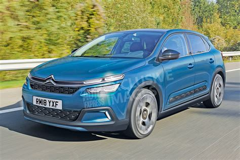 2020 New Citroen C4 by All New Citroen C4 Gets Sharp Look For 2018 Auto Express
