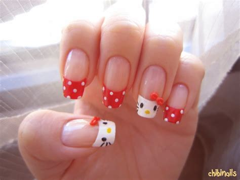 hello nail designs acrylic nail designs