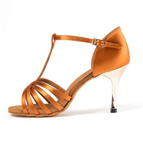 Promo Sandal Branded Wanita Burberry High Quality salsa shoes ballroom shoes buckle high quality for brand