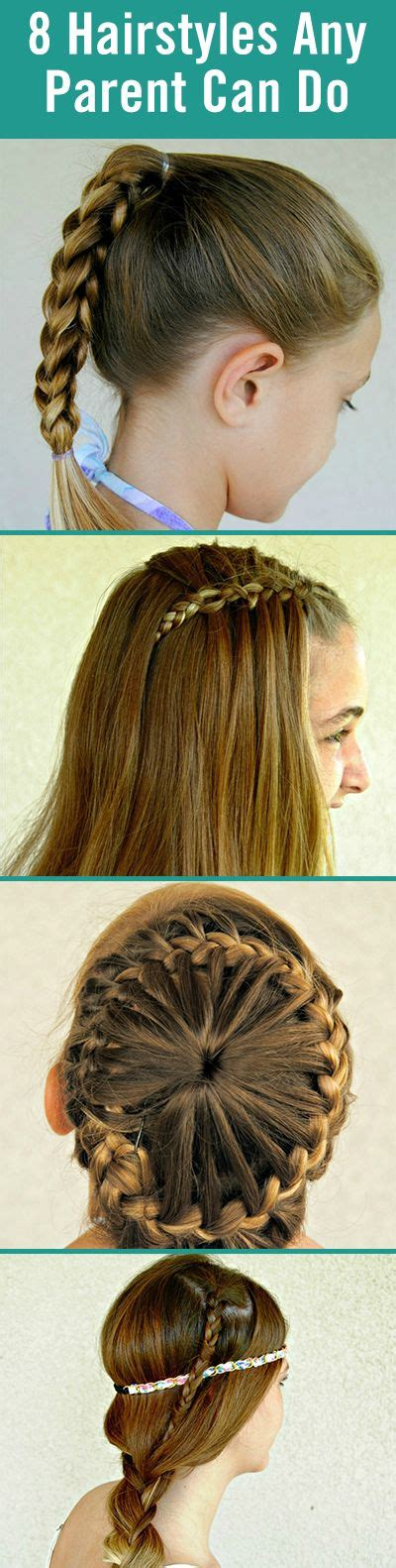 Easy Hairstyles For To Do By Themselves by 8 Hairstyles Any Parent Can Do Themselves