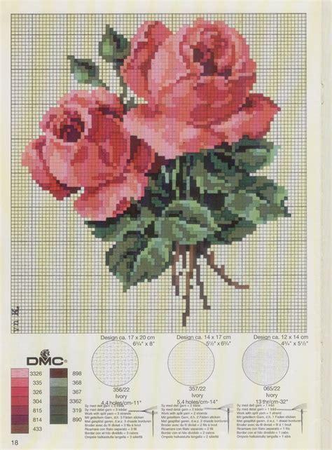 schemi ricamo fiori punto croce schemi e ricami gratuiti schemi fiori