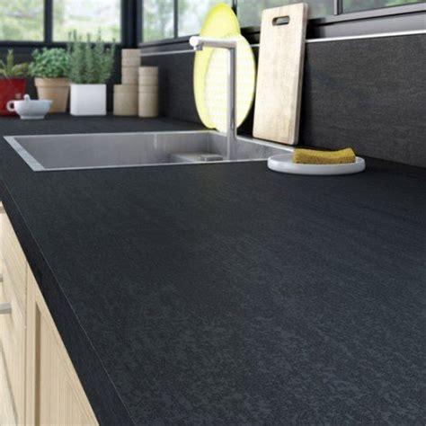 mat駻iel de cuisine professionnel plan de travail stratifi 233 effet m 233 tal noir mat l 315 x p
