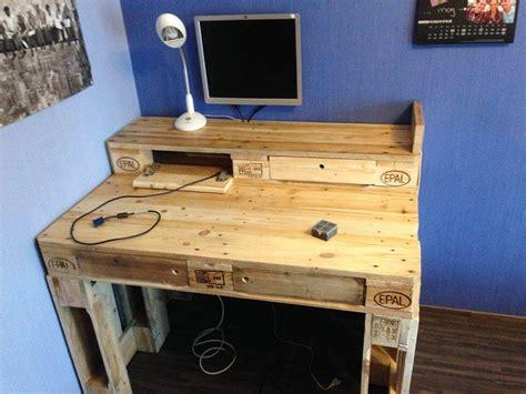 Diy Small Computer Desk by Pallet Computer Desk