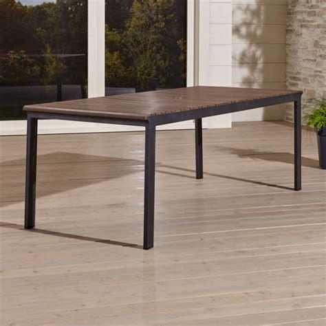 outdoor rectangular dining table rocha outdoor rectangular dining table crate and barrel