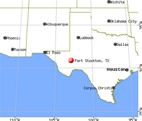 fort stockton texas map fort stockton texas tx 79735 profile population maps real estate averages homes