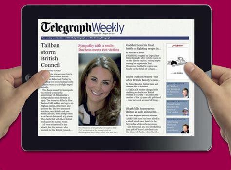 Ipad App News Telegraph Weekly Launches Ipad Edition T3 | telegraph weekly ipad edition the just landed blog