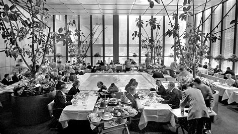 studio four nyc four seasons lunch spot for manhattan s prime movers on the new york times