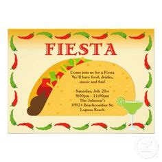 Taco Card Template by Mexican Invitation Templates Free Mexican