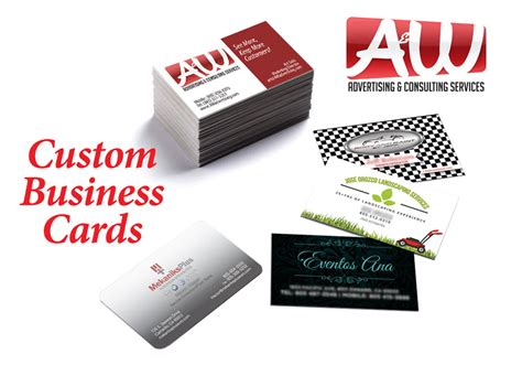 Custom Size Business Cards