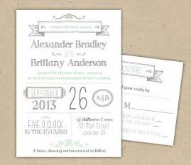 wedding invitation 1041 sle modern invitation template