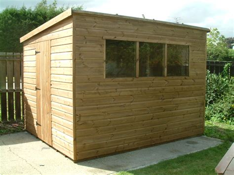 How To Build A Pent Shed From Scratch