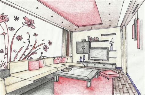 how to draw interior design manchester school of architecture portfolio sketches