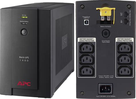 Ups Ica Cp 700 350w apc 1400 va avr back uninterrupted power supply