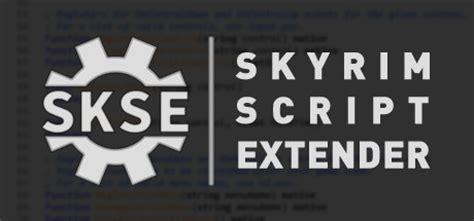 Skyrim Script Extender Skse | skyrim script extender skse on steam