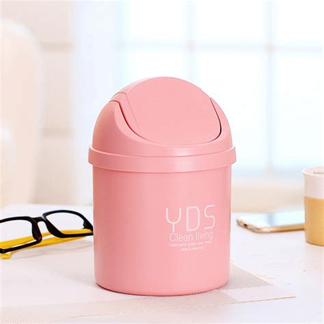 mini trash can for desk 1 pc desk small trash can wastebaskets mini trash bin trash bin 3 colors ebay
