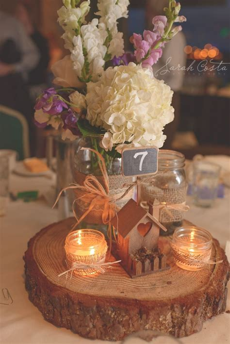 Wedding Log by Idea For A Wedding Centerpiece