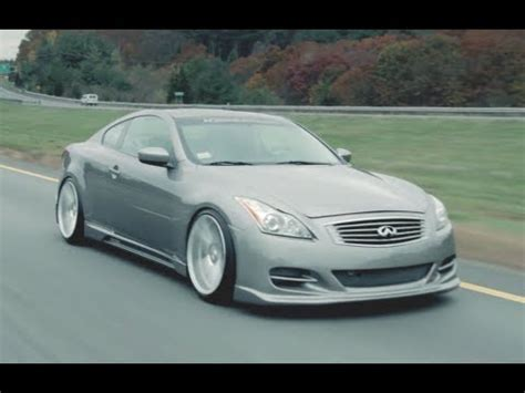 infiniti g37 on 20'' vossen vvs cv4 concave wheels | rims