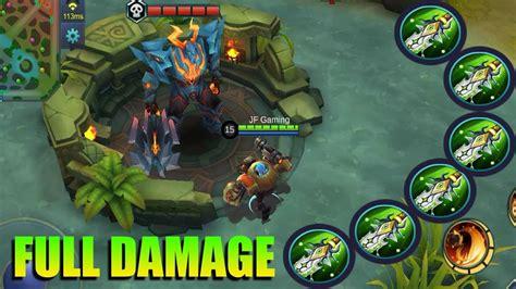 Kaos Custom Mobile Legends Zilong jawhead damage vs lord alucard zilong mobile legends custom mode