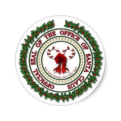 Aufkleber Siegel Rund by Siegel Des B 252 Ros Von Weihnachtsmann Aufklebern Runder
