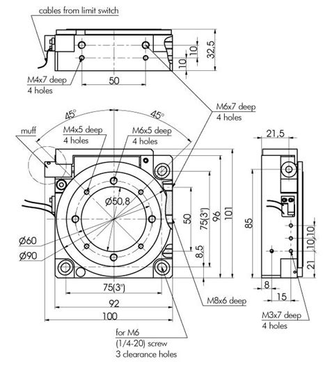 Oven Nanotec motorized rotation stage motorized positioners and