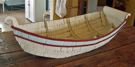 how to make a paper cardboard boat hutch studio boat project continued