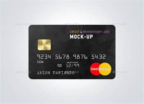 Credit Card Template Ai by 9 Credit Card Mockups Editable Psd Ai Vector Eps