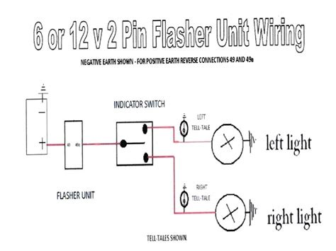 2 pin flasher relay wiring diagram flasher relay switch