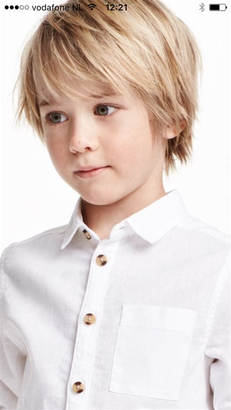toddler boy with blonde hair styles kapsel jongens pinteres